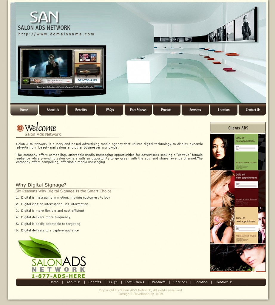 website home page design ideas