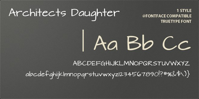 10 Best Handwriting Fonts for Graphic Designers-Architect's Daughter