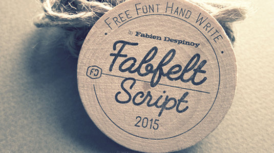 10 Best Handwriting Fonts for Graphic Designers-Fabfelt Script