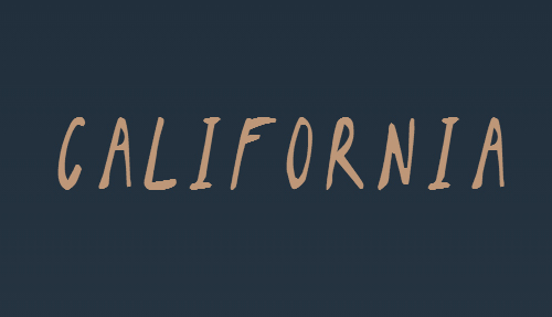 10 Best Handwriting Fonts for Graphic Designers-california